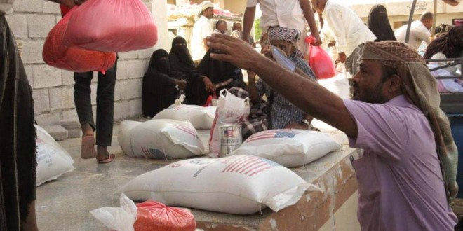 Food Security Project in Lahj distrbuted 1359 food supplies in one day